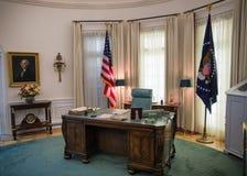 Det ovala kontoret Arkivbilder
