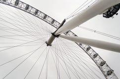 Det panorama- hjulet för London öga Royaltyfri Foto