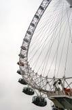 Det panorama- hjulet för London öga Royaltyfri Bild
