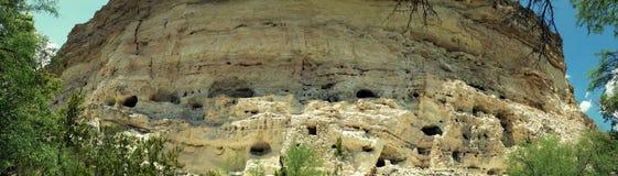 Det Panoramatic fotoet av vaggar erosion, Arizona, USA fotografering för bildbyråer
