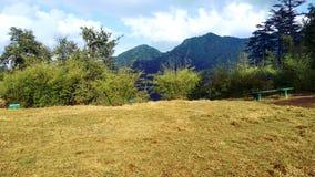 Det perfekta landskapet av naturen Royaltyfria Foton
