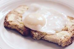 Det perfekta tjuvjagade ägget Arkivfoto