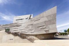 Det Perot museet av naturen och vetenskap i Dallas, TX, USA arkivfoton