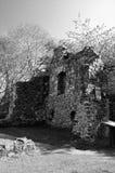 Det Pitcairn huset fördärvar - gamla Glenrothes gränsmärken Arkivfoton