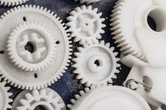 Det plast- kugghjulet Arkivbilder