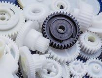 Det plast- kugghjulet Fotografering för Bildbyråer