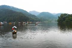 Det Qianling berget parkerar Arkivfoto