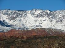 det räknade berg maximal snow Arkivbilder