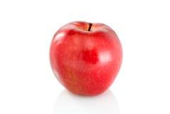 det röda äpplet single Arkivfoto