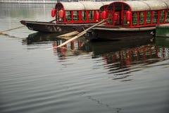 Det röda fartyget Royaltyfria Bilder