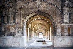 Det röda fortet av Delhi Royaltyfri Fotografi