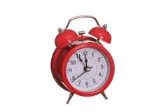 Det röda gammala larmet sätta en klocka på Royaltyfri Fotografi
