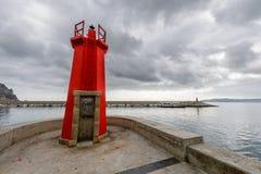 Det röda havet tänder Royaltyfri Bild