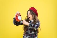 Det ?r tid Alltid i r?tt tid Det ?r aldrig f?r sent Definiera din egen rytm av liv Lyckliga timmar begrepp Schema och arkivbild