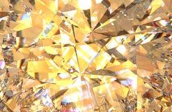 Det realistiska diamanttexturslutet upp, 3D framför royaltyfri illustrationer