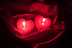Det romantiska valentinkortet - lagerföra fotoet Royaltyfri Fotografi
