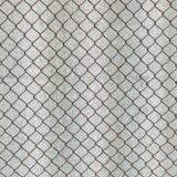 Det Rusry metallrastret på bakgrunden av grå färger kritiserar Royaltyfria Bilder