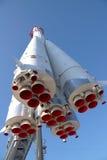 Det ryska rymdskeppet Vostok är i Moskva Arkivbilder