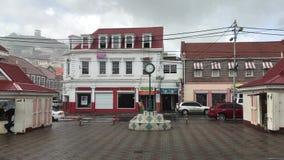 Det ` s som regnar i St George, Grenada stock video