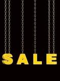Det Sale tecknet 3d framför Fotografering för Bildbyråer