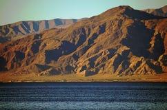 Det Salton havsbadet badar cirkeln Royaltyfria Bilder