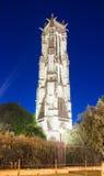 Det Sanka Jacques tornet, Paris, Frankrike Arkivfoto