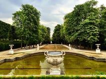 Det Sanka molnet parkerar Royaltyfria Bilder