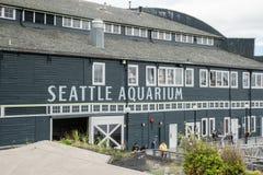 Det Seattle akvariet Royaltyfria Foton
