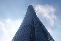 Det Shanghai tornet Arkivfoto