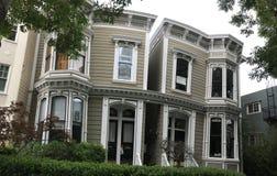 Det Siamese kopplar samman hus, 20-26 Liberty Street Royaltyfri Bild