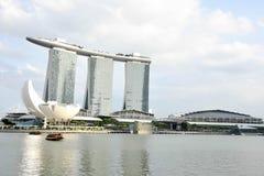 Det Singapore stadslandskapet turnerar Royaltyfri Foto