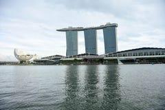 Det Singapore stadslandskapet turnerar Royaltyfri Fotografi
