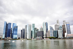 Det Singapore stadslandskapet turnerar Royaltyfria Bilder