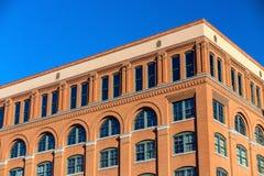 Det sjätte golvmuseet i i stadens centrum Dallas royaltyfria bilder