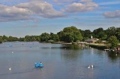 Det slingrande, Hyde Park Royaltyfri Foto