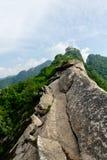 Det smala berget Ridge Arkivbilder