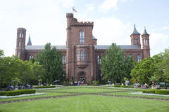 Det Smithsonian Institution byggandet Royaltyfria Foton