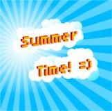 Det sommarhimmel för ` s! Royaltyfria Foton