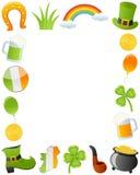 Det St Patrick s dagfotoet inramar Royaltyfri Fotografi
