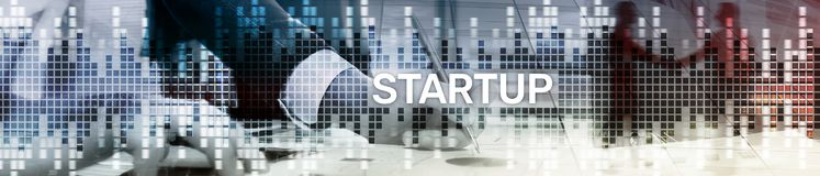 Det Startup begreppet med dubbel exponering diagrams suddig bakgrund Websitetitelradbaner royaltyfria foton