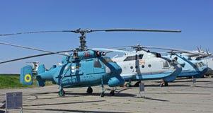 Det statliga flygmuseet i Kiev Royaltyfri Fotografi