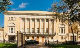 Det statliga museet av orientaliska Art Lunin Manor moscow Royaltyfria Foton