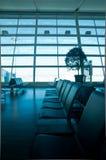 Väntande område för flygplats Royaltyfri Foto
