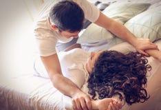 Det stora förspelet baseras på förälskelse arkivbild