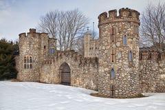 Modellera slottet Royaltyfri Fotografi