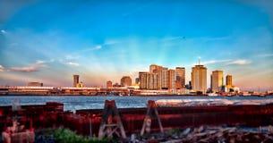 Det stora lätt - New Orleans, La. Arkivfoto