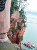Det stora perspektivet för Buddha` s Royaltyfria Foton