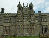 Det stora slottet Royaltyfri Bild