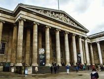 Det Storbritannien museet, konsten och historien royaltyfri foto