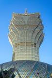 Det storslagna Lissabonet i Macao Royaltyfria Bilder